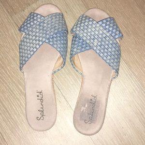Splendid woven sandals